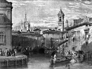 Vecchia Milano navigabile