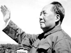 Mao Zedong in una foto del 1966, all'inizio della Rivoluzione culturlae cinese