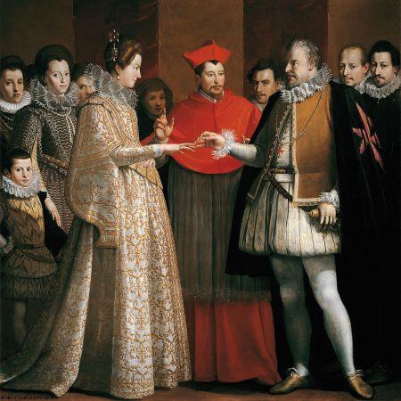 Banchetto nuziale di Maria de' Medici ed Enrico IV di Francia