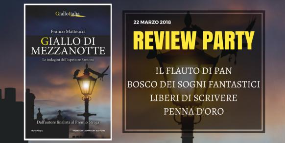 Review Party – Giallo di Mezzanotte Mezzanotte Mezzanotte di Franco Matteucci Newton 03aebd
