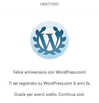 8 compleanno